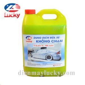Dung Dich Rua Xe Khong Cham Lucky Can 5 Lit